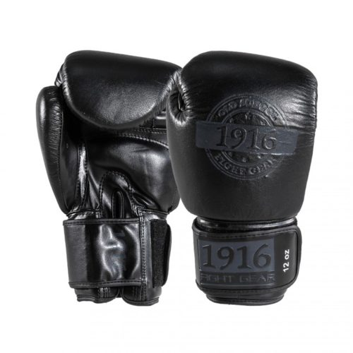 1916 bokshandschoen hybrid zwart