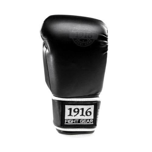 1916 bokshandschoen old school pu zwart