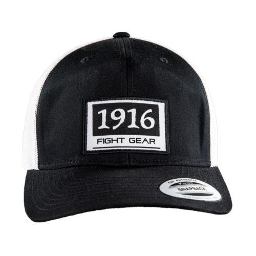 1916 trucker pet zwart wit